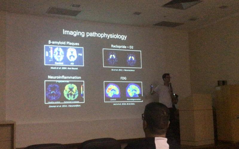 Guilherme Povala, Talk at I Ciclo de Palestras em Neuroimagem