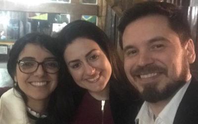 Eduardo R. Zimmer and Andréia Rocha, Talk at Congresso Brasileiro de Medicina Nuclear