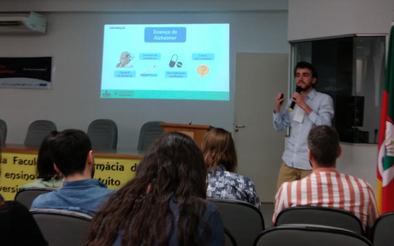 Wagner Brum, Talk at VI Mostra da Bioquímica