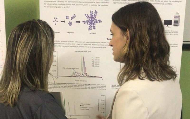 Pamela Lukasewicz, Poster presentation at I South Brazilian Symposium on Neuroscience