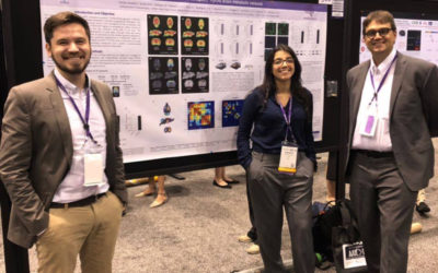 Eduardo Zimmer and Andréia Rocha, Poster presentation at Alzheimer's Association International Conference