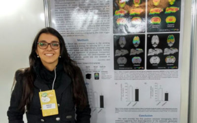 Andréia Rocha, Poster presentation at the World Congress on Brain, Behavior and Emotions
