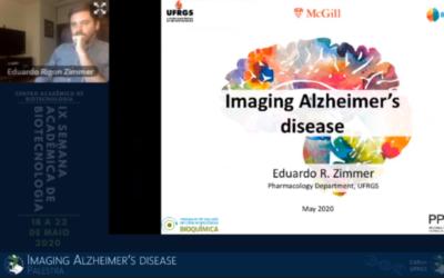 Eduardo R. Zimmer, Talk IX Semana Acadêmica da Biotecnologia da UFRGS