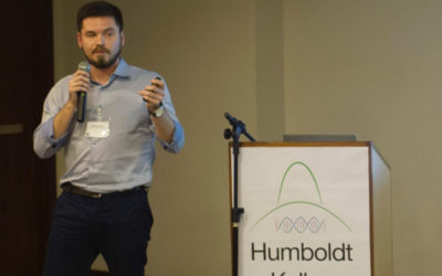 Eduardo Zimmer, Talk at Humboldt Kolleg: The Impact of Bioimaging and Structural Biology in the Field of Life Science