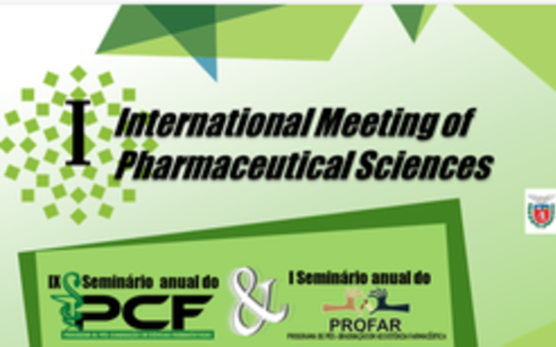Eduardo Zimmer, Talk at I International Meeting of Pharmaceutical Sciences