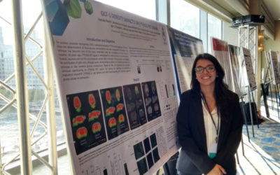 Andréia Rocha, Poster presentation at the 18th International Conference on Alzheimer's Drug Discovery