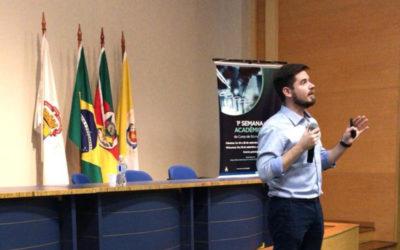 Eduardo Zimmer, Talk at I Semana Acadêmica de Biomedicina da PUCRS
