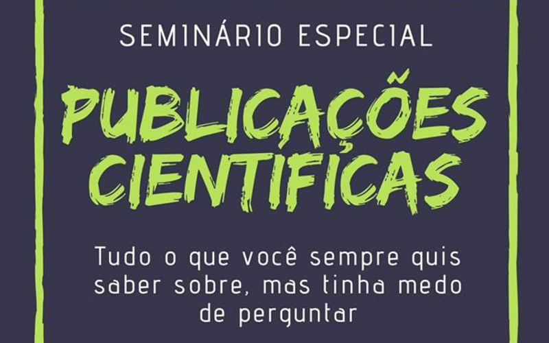 Eduardo Zimmer, Talk at Special Seminar – Scientific Publications